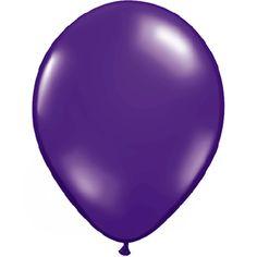 "Quartz Purple, Qualatex 11"" Latex Balloon   Single Balloon for $0.23"