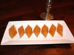 Try a change from the traditional Champagne Jello this Holiday Season