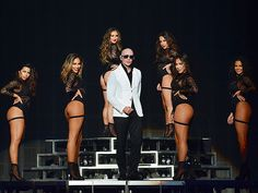 Star Tracks: Wednesday, March 16, 2016   VEGAS, BABY   Pitbull takes the stage surrounded by dancers at the opening night of his Las Vegas show on Tuesday.