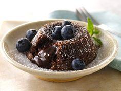 Chocolate-Hazelnut Lava Cakes