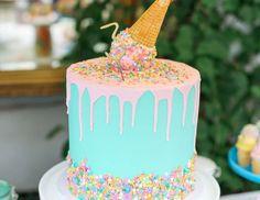 "Ice Cream theme / Birthday ""Julien's Ice Cream Party Brunch"" | Catch My Party"