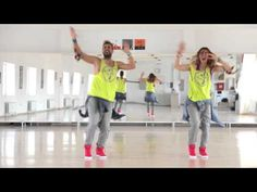 "▶ Zumba(r) Fitness - Nevena & Goran - Tapo & Raya ""Bomba"" - Maria introduced this one at Southziders, it's a fun one!"