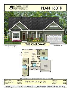 Plan 1601R: THE CALLOWAY