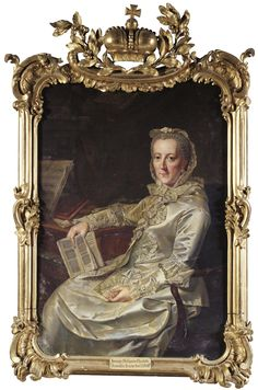 Duchess Philippine Charlotte, wife of Duke Karl I after Johann Georg Ziesenis (auctioned by Sotheby's)   Grand Ladies   gogm