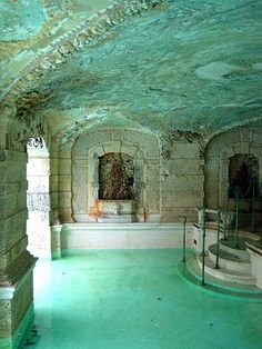 Vizcaya pool- partially indoor, I've been here but never got the tour of this. Lovely.