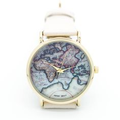 World map watch – Imsmistyle.