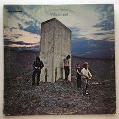 THE WHO WHO'S NEXT VINYL 1971 MCA RECORDS FREE SHIPPING LP MCA-2023