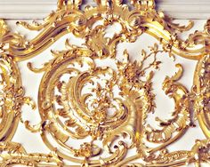 Gold detail at Catherine's Palace in Russia - by gypsyfables on Etsy