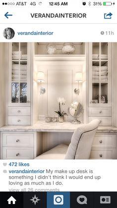 Veranda Interiors: Our Home   Vanity Table