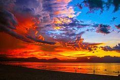Sundown #public domain image