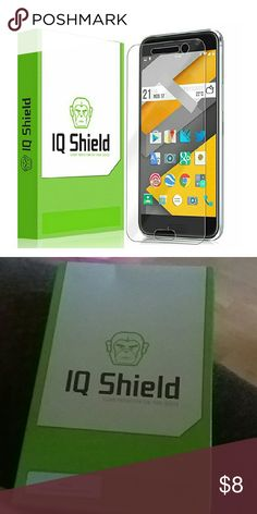 HTC 10 Screen Protector HTC 10 Screen Protector, IQ Shield LiQuidSkin Screen Protector for HTC 10 (One M10) HD Clear Anti-Bubble Film - with Accessories Phone Cases
