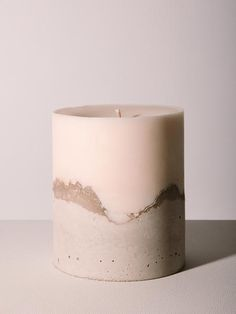 Objects by The Drive New York Home Candles, Best Candles, Soy Wax Candles, Easy Crafts To Sell, Candle Packaging, Candle Craft, Concrete Crafts, Natural Candles, Handmade Candles