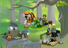 Designer of all-female scientist LEGO set adds more scientists to the mix