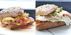Tijd voor inspiratie, tijd voor 2x lekkere lunchbroodjes. Mocht je niet weten wat te lunchen maar wel zin hebben in iets lekkers, probeer deze dan eens.