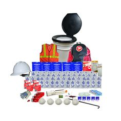 Deluxe 5 Person Bucket Earthquake Kit Earthquake Kits, New Product, Nespresso, Coffee Maker, Bucket, Coffee Maker Machine, Coffeemaker, Coffee Making Machine, Buckets