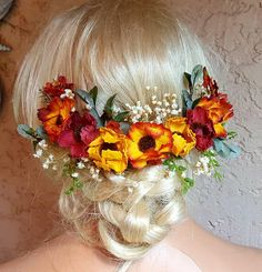 Check out this item in my Etsy shop https://www.etsy.com/listing/553362707/fall-wedding-wreath-autumn-bridal-hair