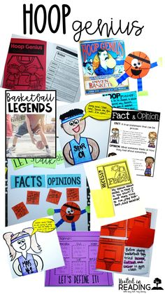 Looking for some March Madness activities? Students had a ball learning about basketball legends!