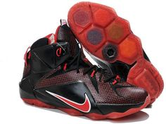 335b92cd71a6 Find Nike LeBron 12 Custom Black Red Online online or in Pumarihanna. Shop  Top Brands and the latest styles Nike LeBron 12 Custom Black Red Online of  at ...