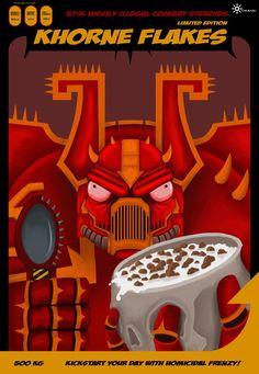 khorne | KHORNE FLAKES!!!!1 image - Warhammer 40K Fan Group