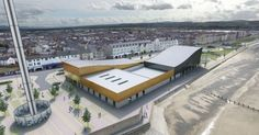A report on the facility, which will boast a climbing zone, soft play facility and flumes, is set to go before Denbighshire council Soft Play, In 2019, Sun Lounger, Attraction, Centre, To Go, Park, Water, Outdoor Decor