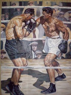 Dempsey v.s Carpentier Boxing Images, Boxing Fight, Boxing Boxing, Boxing Posters, Art Rules, Flavio, Sport Icon, Vintage Classics, Character Poses