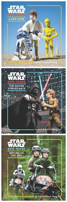 The new Star Wars baby board books series by Jack & Holman Wang are fantastic!