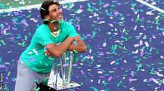 Rafa Returns! Nadal wins a record-breaking 22nd ATP Masters 1000 title at the BNP Paribas Open on Sunday.