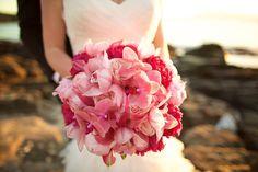 Beautiful pink bridal bouquet - Anna Kim Photography