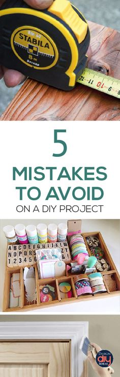 Have you had a DIY project fail? Learn from other mistakes on how to avoid pinterest fails and have success on your next DIY project.