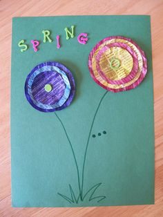 Spring craft for the kiddos