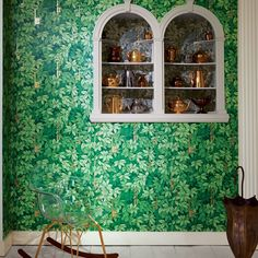 Fornasetti II Chiavi Segrete Wallpaper | Houseology