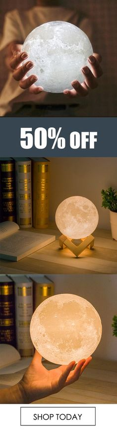 You've only ever dreamed of touching the moon…now indulge yourself with the soothing glow of our photo-realistic moon light. The LED light adjusts from soft white to yellow, creating the perfect ambiance for a relaxing night or a romantic date. Moonstruck, anyone?