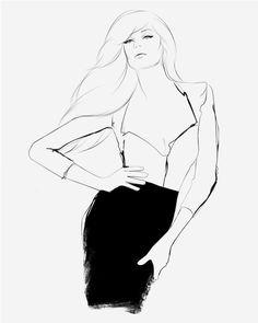 Fashion Illustrations by Will Ev