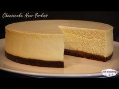 La recette du véritable cheesecake New-Yorkais bien crémeux et facile à réaliser, un vrai délice !