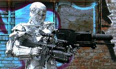 Terminator Costume, Robot Costumes, Master Chief, Fictional Characters, Art, Art Background, Kunst, Performing Arts, Fantasy Characters