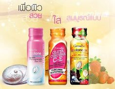 GIFFARINE ABOLONE COLLAGEN DRINK WITH POMEGRANATE JUICE 10% / GLUTA CURCUMA C-E DRINK WITH CURCUMIN JUICE 10% / GIFFARINE ABALONE 3X COLLAGEN GOLD DRINK IN 100% MIXED BERRY FROM 14 DIFFERENT CONCENTRATE BERRIES WITH CIDER / www.facebook.com/HealthyBeautyGuide