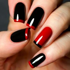 Pretty Modern nail designs for Teens