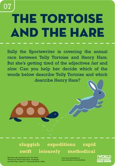 TORTOISE THE AND STORY HARE
