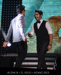 Piero and Ignazio ... Credit: AlinaB