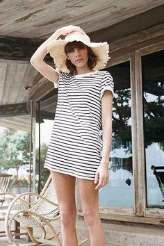 Silence + Noise Blanc T-Shirt Dress - Urban Outfitters