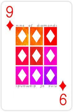 Pc037 - Nine of Diamonds by Michael Deluca / Custom 52