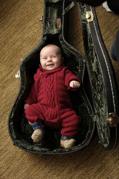 Eric Church's adorable little boy, Boone McCoy. How cute is this picture??