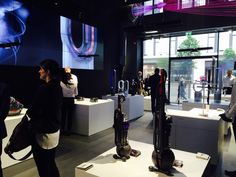 The Dyson Demo retail space opens this week on London's Oxford Street, and aims to educate consumers about the scientific concepts behind products before they buy.