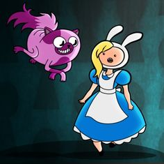 Adventure Time Mashup | Adventure Time/Alice in Wonderland mashup | adventure time!