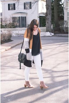Click the pin to see more details at My Sweet Genevieve   Casual Weekend Style  Spring Outfit   Real Mom Style
