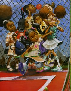 "Frank Morrison Artwork for ""QUEEN OF THE SCENE"" Children's Book by Queen Latifah Black Love Art, Black Girl Art, Art Girl, Black Child, Black Girls, Black Women, Black Style, Natural Hair Art, Pelo Natural"