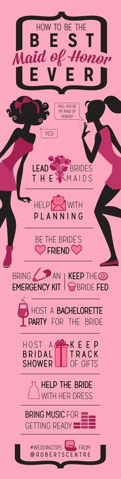 So Your BFF Got the Ring - How to Be the Best Maid of Honor