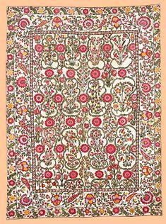 Suzani Embroidery: The Eberhart Herrmann Bokhara Suzani 1st half 19th c. lot 148