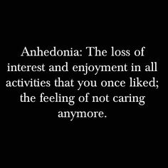 anhedonia. word of the day  #m_eye_nd #wizdomly