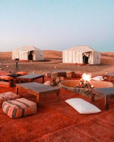 Once upon a time when we slept under the desert stars ✨ - Marrakech for people in Love - Travel Places To Travel, Travel Destinations, Places To Go, Morocco Travel, Africa Travel, Vietnam Travel, Bedouin Tent, Magic Places, Riad